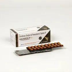 Diclofenac  Sodium  Paracetamol Tablet