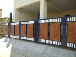 HPL Gate Cladding