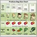 Cotton Mesh Produce Reusable Vegetable Bag