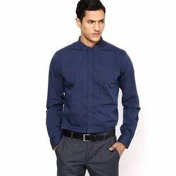 Denim 36-50 Mens Formal Shirt