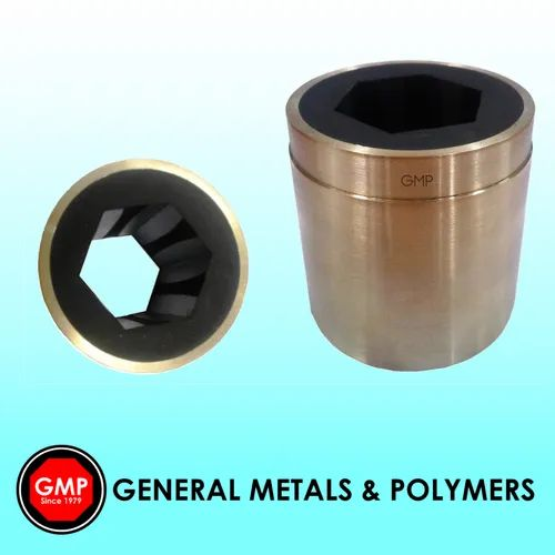 Polygonal Cutlass Rubber Bearing