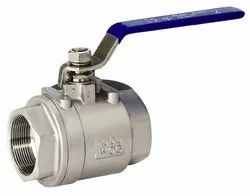 SS Screw End Ball Valve