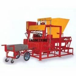 Stand Type Solid Block Making Machine