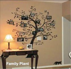Big Stencils Family Plant