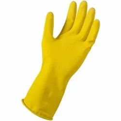 Small,Medium,Large Yellow Rubber Gloves, for Hospitals,Industrial Use,Labs,Household