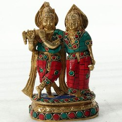 Capstona Brass  SW Radha Krishna Idols