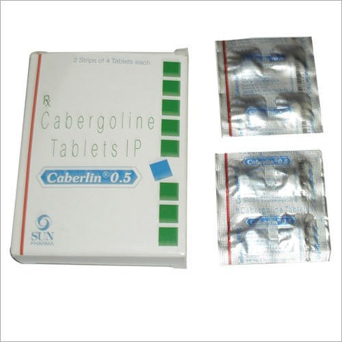 0.5 Mg Cabergoline Tablet