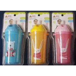 AVS Optional Baby Plastic Bottle, Packaging Type: Packet, 3-12 Months