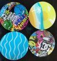 Customized Acrylic Tea Coasters