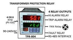 Temperature Scanner Cum Protection Relay TPR-804
