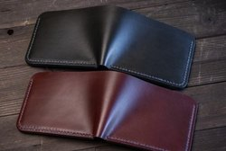 Men Simple Leather Wallet