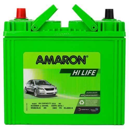 Amaron Battery, Capacity: 12 V 35 Ah