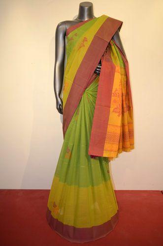 9e2d079930479 Gorgeous Handloom Village Pure Cotton Saree