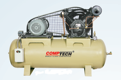 20 AC Three Phase Comptech Oil Free Air Compressors, Maximum Flow Rate (CFM): 77