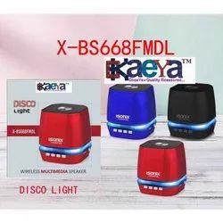 Isonix X-Bs668fmdl Disco Light Wireless Multimedia Speaker