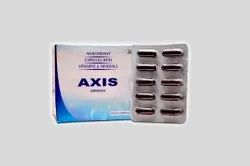 Axis Antioxidant Capsules, Packaging Size: 10 X 10 Capsules