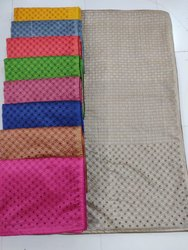 Casual Wear Printed Ladies Fancy Cotton Saree, With blouse piece, 6.5 m