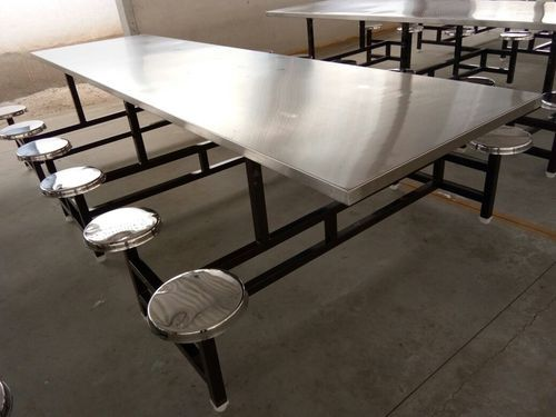 SGFKEPL Stainless Steel Industrial Dining Table ID - Industrial kitchen table stainless steel