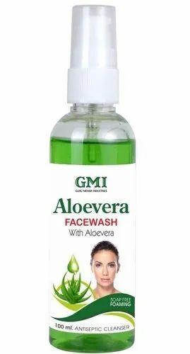 GMI Liquid Aloe Vera Face Wash, Pack Size: 100 Ml, 200 Ml
