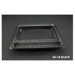 SG-18-Black Plastic Container