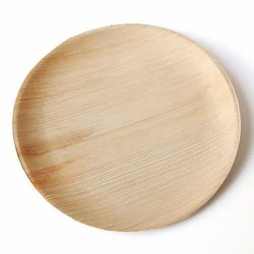 Areca Round Leaf Plate
