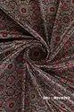 Ajrakh Gaji Silk Fabric