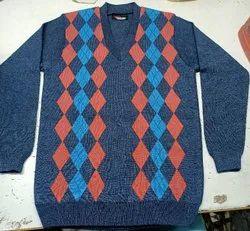 Designer woolen V Neck sweater