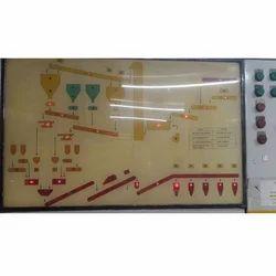 100-240 V Single Phase Mimic Panels, For Plant Operation