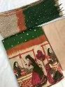 Kutchhi Unstitched Ladies Embroidered Suits