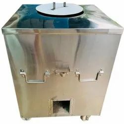 150 L Gas And Charcoal SS Tandoor