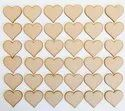 Heart Shaped Wooden Handicraft