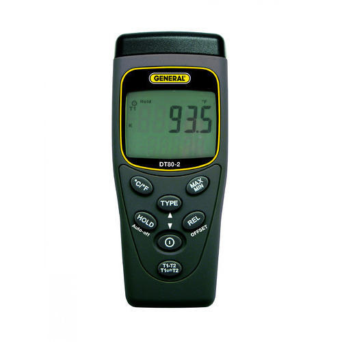 Two Channel Portable Temperature Data Logger, तापमान का डाटा लॉगर - Labmatrix Manufacturing LLP ...