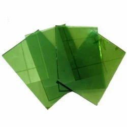Green Reflective Glass