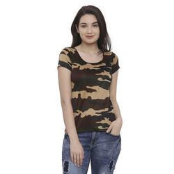 Ladies Casual Cotton T Shirt