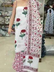Top Bottom And Dupatta Fabric