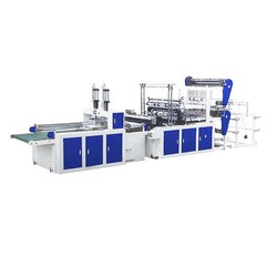 Double Line T Shirt Bag Making Machine