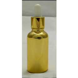 Golden Glass Bottle 30 mL