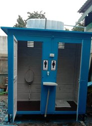 Prefabricated Two Seater Fiber Urinal
