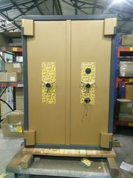 Fire & Burglar Resistant Safe (Hall Mark 345 Double Door Safe)