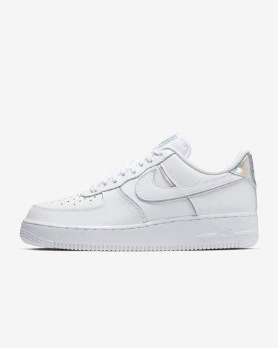 White Nike Air Force LV8 4 Shoe, Shoe