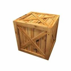 Square Polished Wooden Storage Box