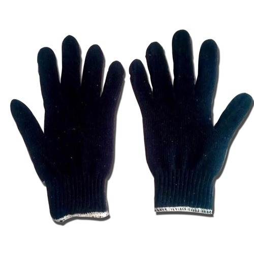 Atlas Blue & White Cotton 35 gram Kniteds Gloves