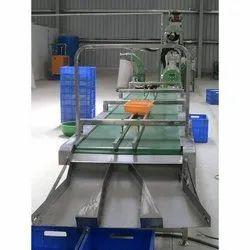 Industrial Cashew Inspection Conveyor