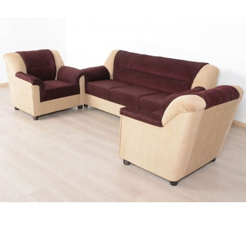 Sofa Set Cover Price In India: 5 Seater Sofa Sofa Wales Leatherette 5 Seater Set In Brown