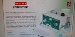 Medisys Portable Medical Ventilator