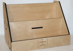 Wooden Brochure Holder