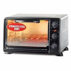 22 L Bajaj Majesty 2200 TMSS Oven Toaster Griller, SS and Glass