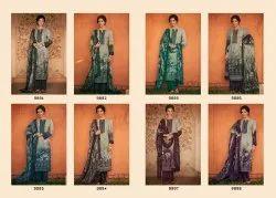 Georgette Party Wear Kimora Heer Nargis Salwar Kameez, Material
