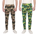 Clifton Mens Army Printed Joggers