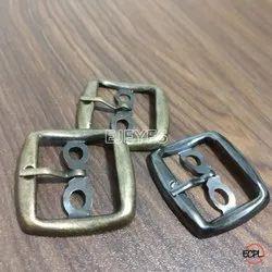 22mm Mild Steel Square Buckles Black Nickel